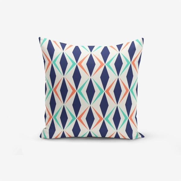 Față de pernă cu amestec din bumbac Minimalist Cushion Covers Colorful Geometric Design, 45 x 45 cm