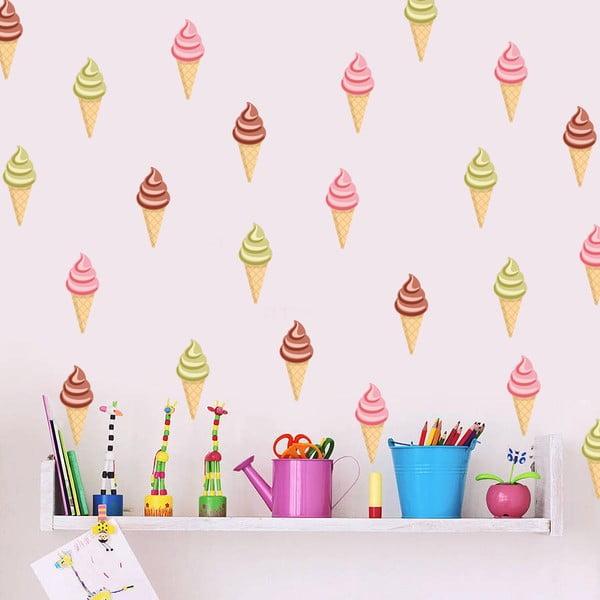 Samolepka na zeď Zmrzliny, 70x50 cm