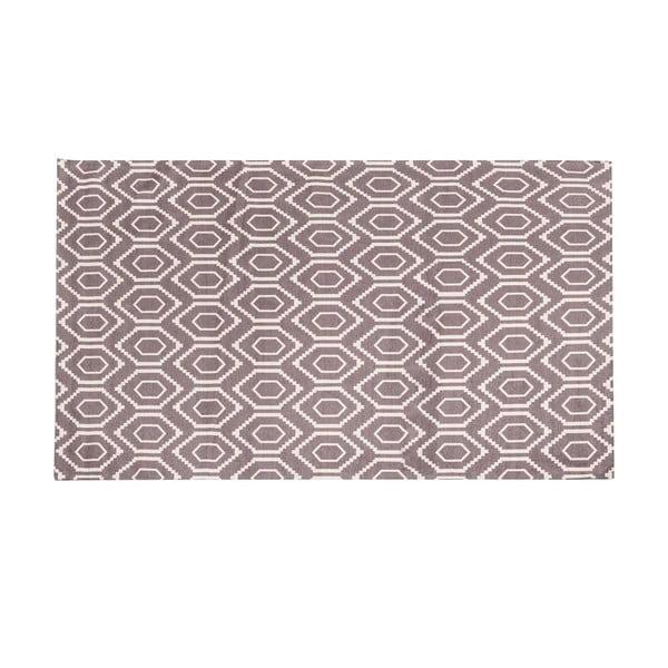 Vysoce odolný kuchyňský koberec Webtappeti Honeycomb Hazel,130x190cm