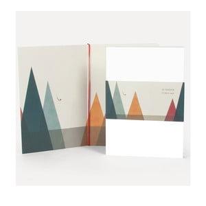 Poznámkový blok U Studio Design Natadora, 14,5 x 20,5 cm