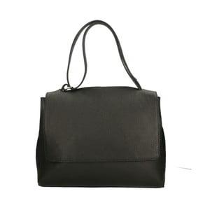 Černá kožená kabelka Roberto Buono Barbara