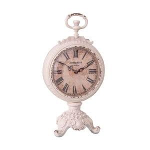 Bílé hodiny Antic Line Pendulette Baroque