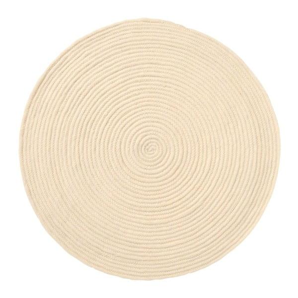 Koberec Spiral Ecru, 70x70 cm
