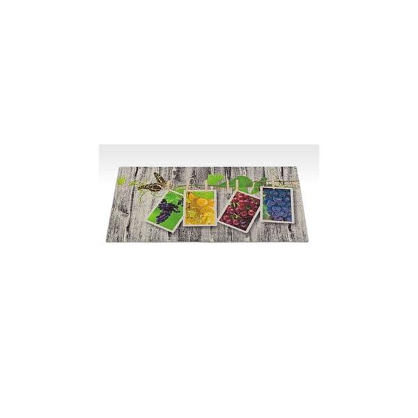 Vysoce odolný kuchyňský koberec Webtappeti Fruits,60x115cm