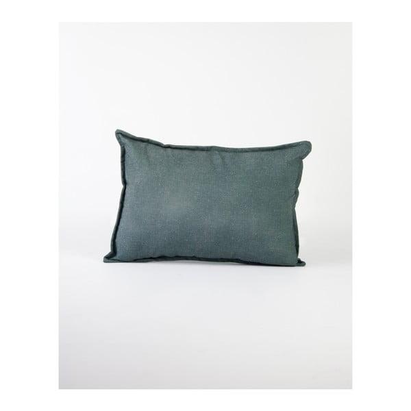 Zöld lenkeverék párnahuzat, 50 x 35 cm - Surdic