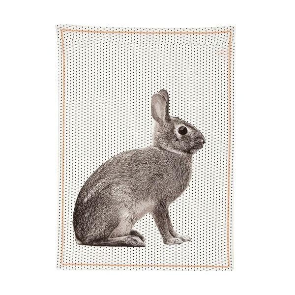 Kuchyňská utěrka Dotty Rabbit, 50x70 cm