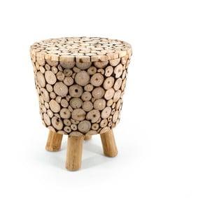 Stolička z teakového dřeva Moycor Marsella Spheres