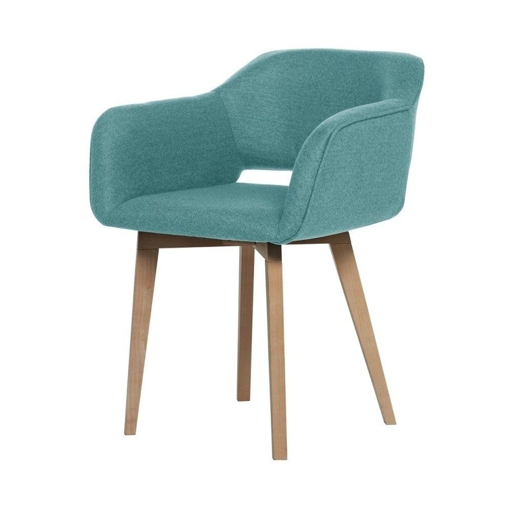 Světle modrá jídelní židle My Pop Design Oldenburg