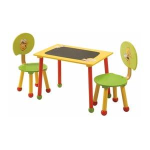 Set masă și 2 scaune pentru copii Roba Kids Bee