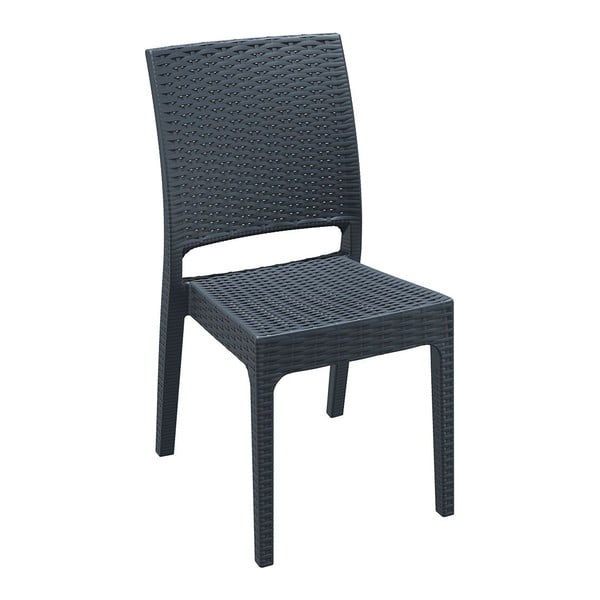 Židle Florida, tmavě šedá