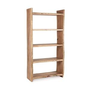 Knihovna z akáciového dřeva Bizzotto Eneas