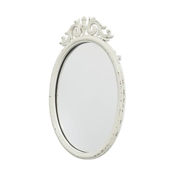 Bílé zrcadlo Nordal Baroque