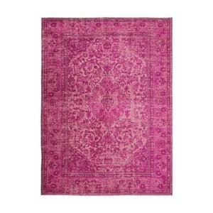 Růžový ručně tkaný koberec Flair Rugs Palais, 200x290cm