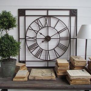 Nástěnné hodiny Industry Orchidea