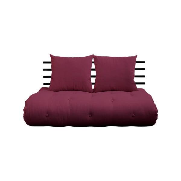 Shin Sano Black/Bordeaux kinyitható kanapé - Karup Design