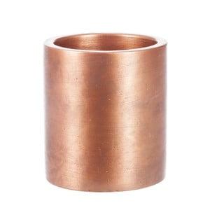 Květináč Copper Cer, 8x8 cm