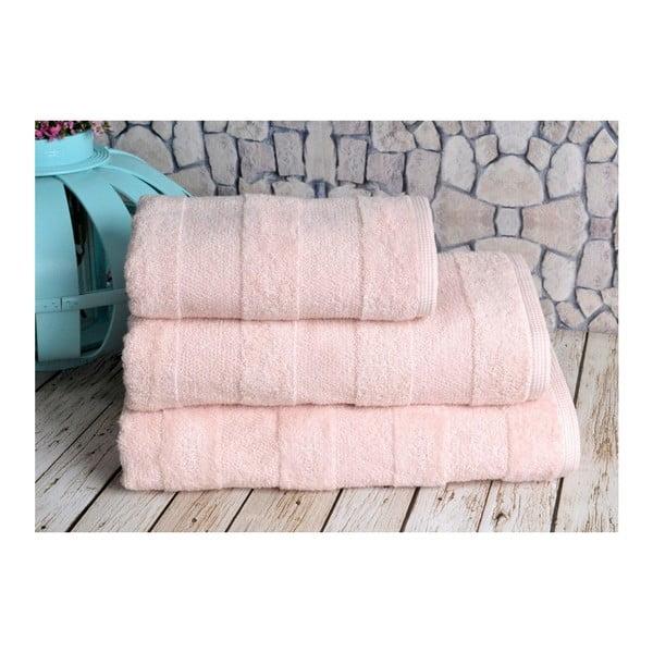 Lososový ručník Irya Home Nova, 50x90 cm