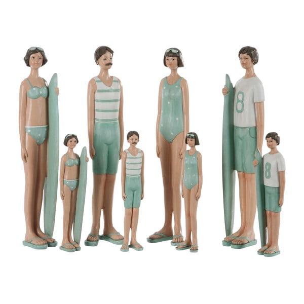 Sada 4 dekorací Kids Swimsuit, 8x6x35 cm