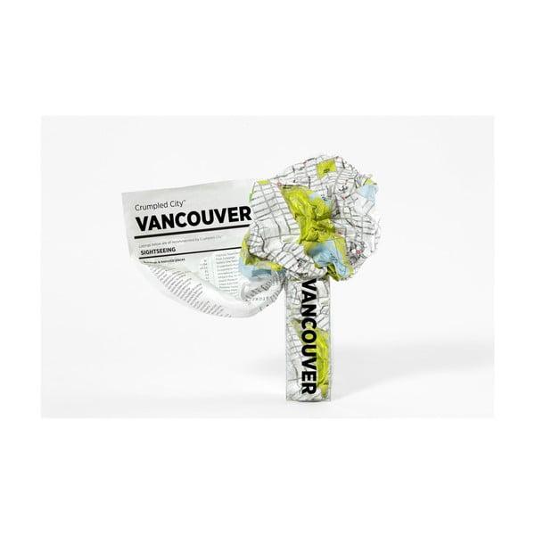Hartă turistică șifonată Palomar Vancouver