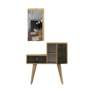 Sada konzolového stolku a zrcadla Janna