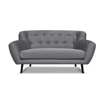 Canapea cu 2 locuri Cosmopolitan desing Hampstead, gri de la Cosmopolitan Design