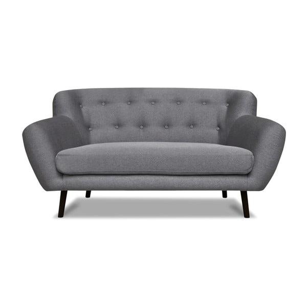 Hampstead szürke kétszemélyes kanapé - Cosmopolitan design
