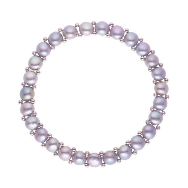 Náramek s říčními perlami Dariea