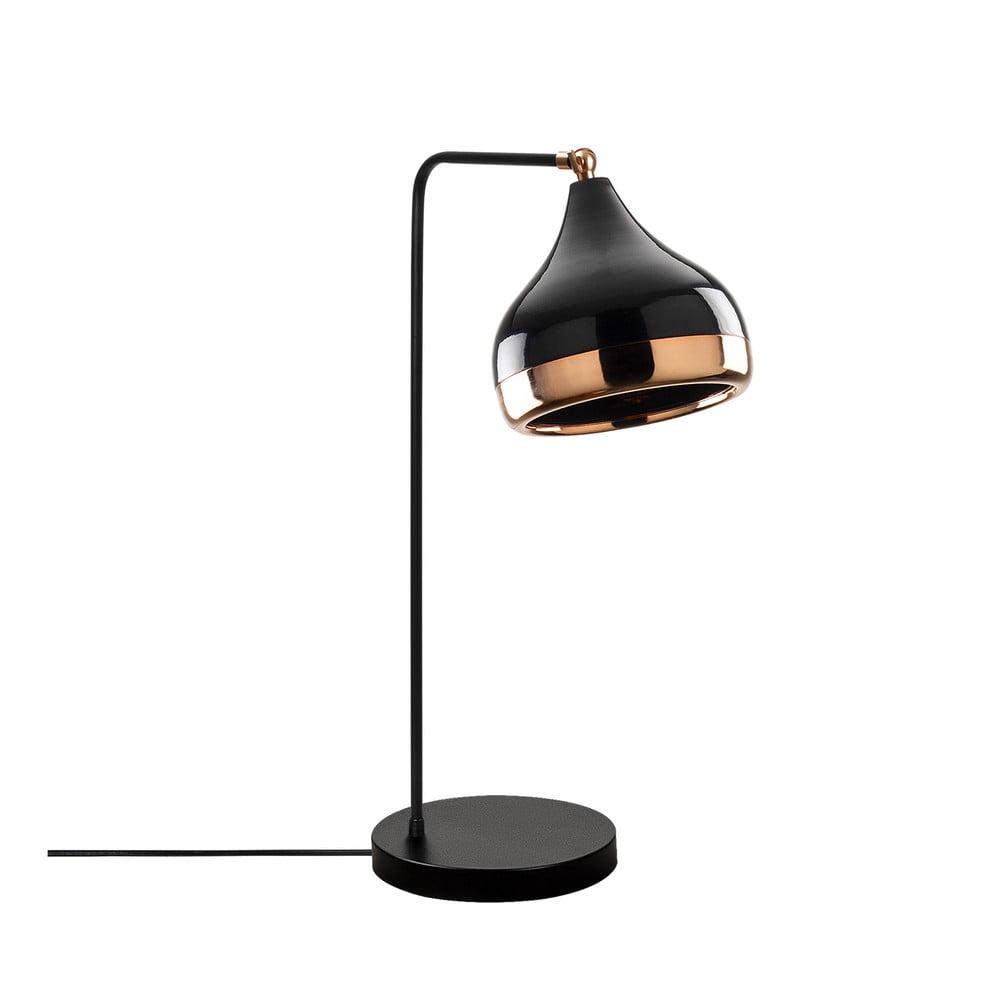 Černá stolní lampa Opviq lights Yildo