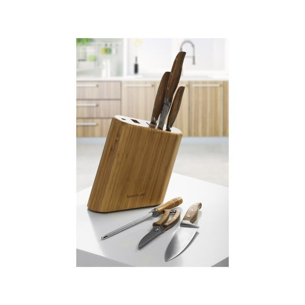 Bambusový stojan s noži Chillo