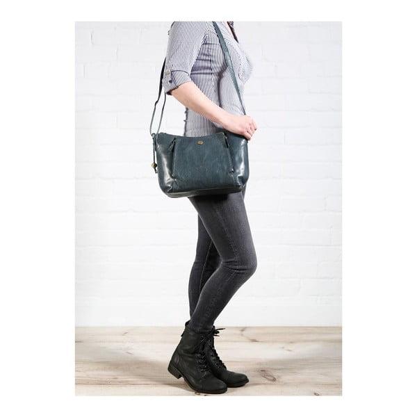Dámská kožená taška Emilia Denim