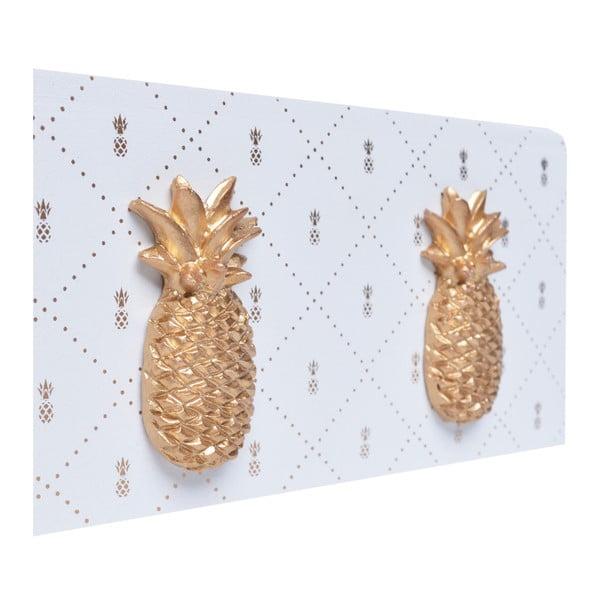 Cutie din lemn pentru șervețele Ewax Ananas, 24 x 14 x 8 cm