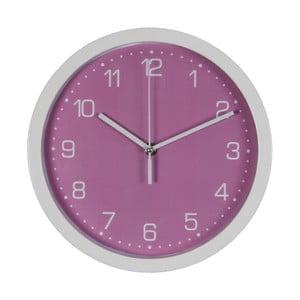 Fialové nástěnné hodiny Just 4 Kids Arabic Dial, ⌀ 26,5 cm