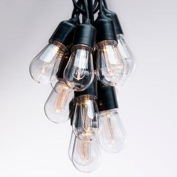 Ghirlandă luminoasă cu LED DecoKing Bulb, lungime 8 m, 10 beculețe imagine