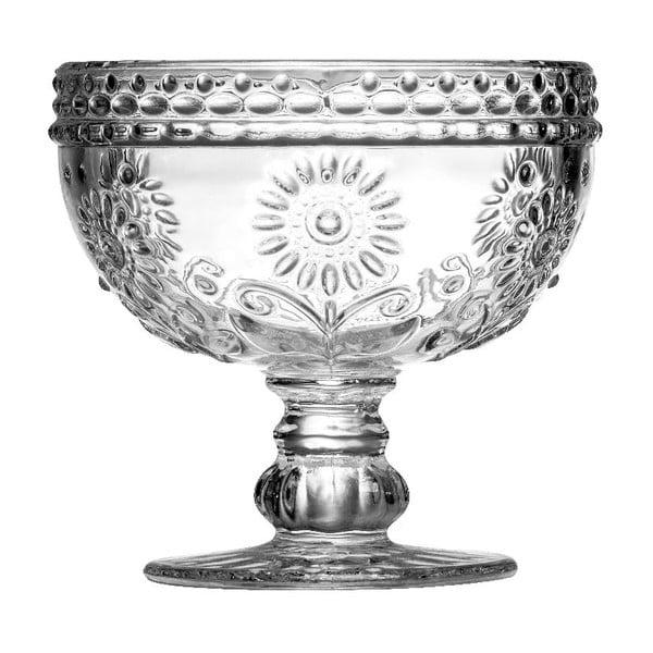 Cupă din sticlă pentru desert Premier Housewares Daisy, 300 ml