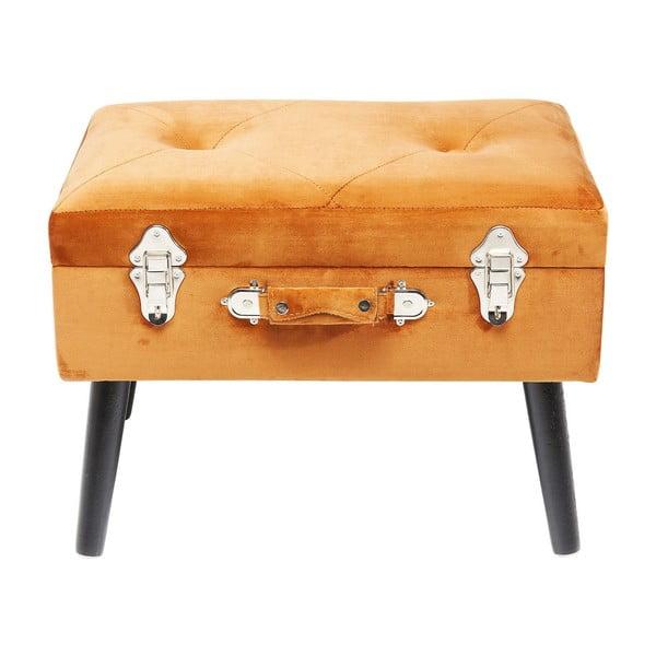 Suitcase narancssárga ülőke - Kare Design