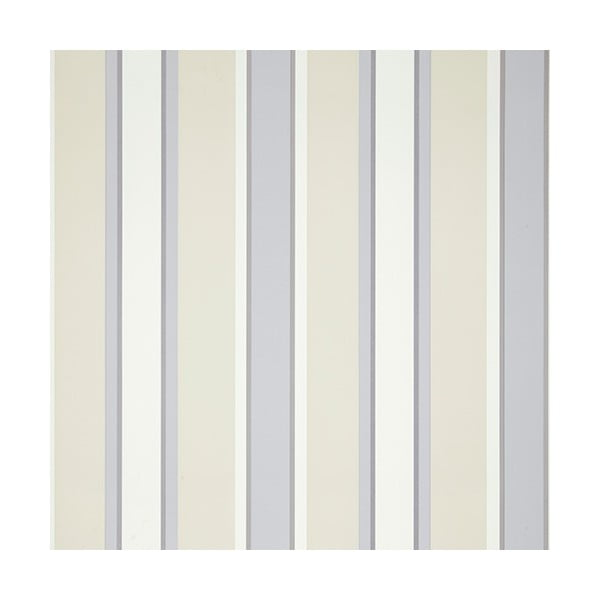 Tapeta Stripe Charcoal, 1000x52 cm