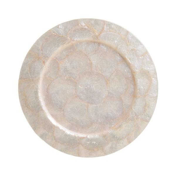 Półmisek z muszli InArt Capiz, ⌀ 33 cm