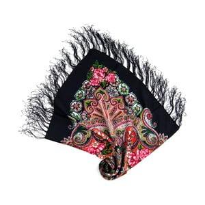 Šátek Etno Chusty Black