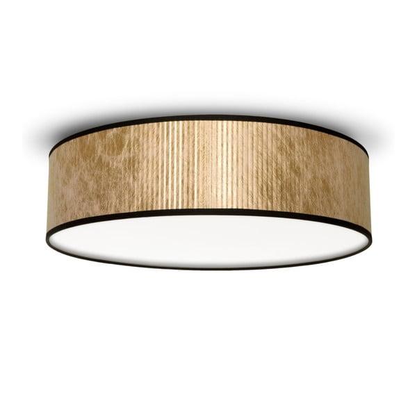 Lampa sufitowa w kolorze złota Bulb Attack Tres, Ø 40 cm