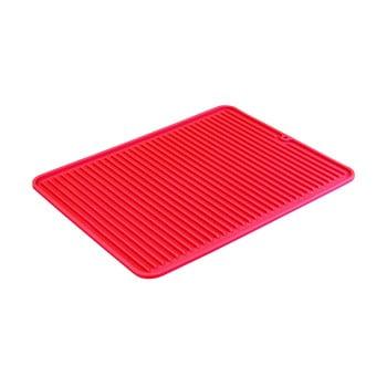 Scurgător veselă iDesign Lineo, 40x32cm, roșu