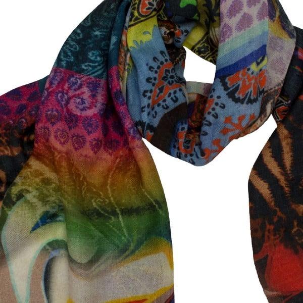 Vlněný šátek Shirin Sehan - Karolina