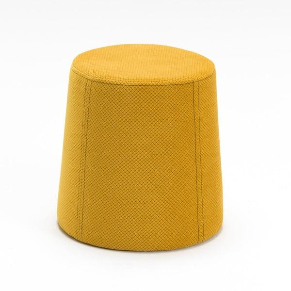 Žltá podnožka Balcab Home Polly