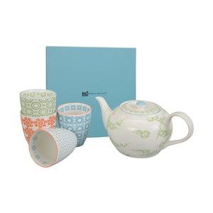 Porcelánová sada na čaj Orient Green