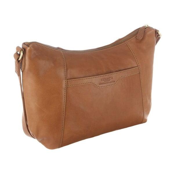 Kožená taška Emilia Dark Tan