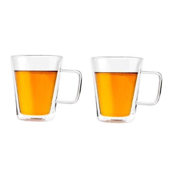 Sada 2 dvoustěnných sklenic Bredemeijer Milano, 400 ml