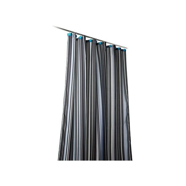 Sprchový závěs Ultimate black, 180x200 cm