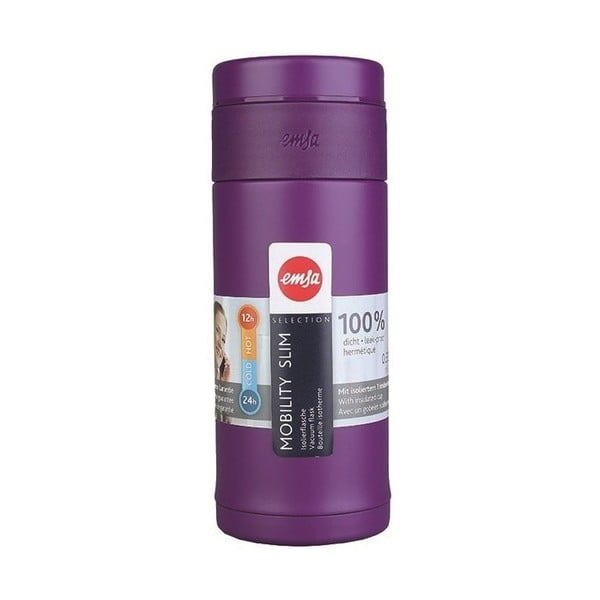 Termolahev Mobilitiy Slim Purple, 420 ml