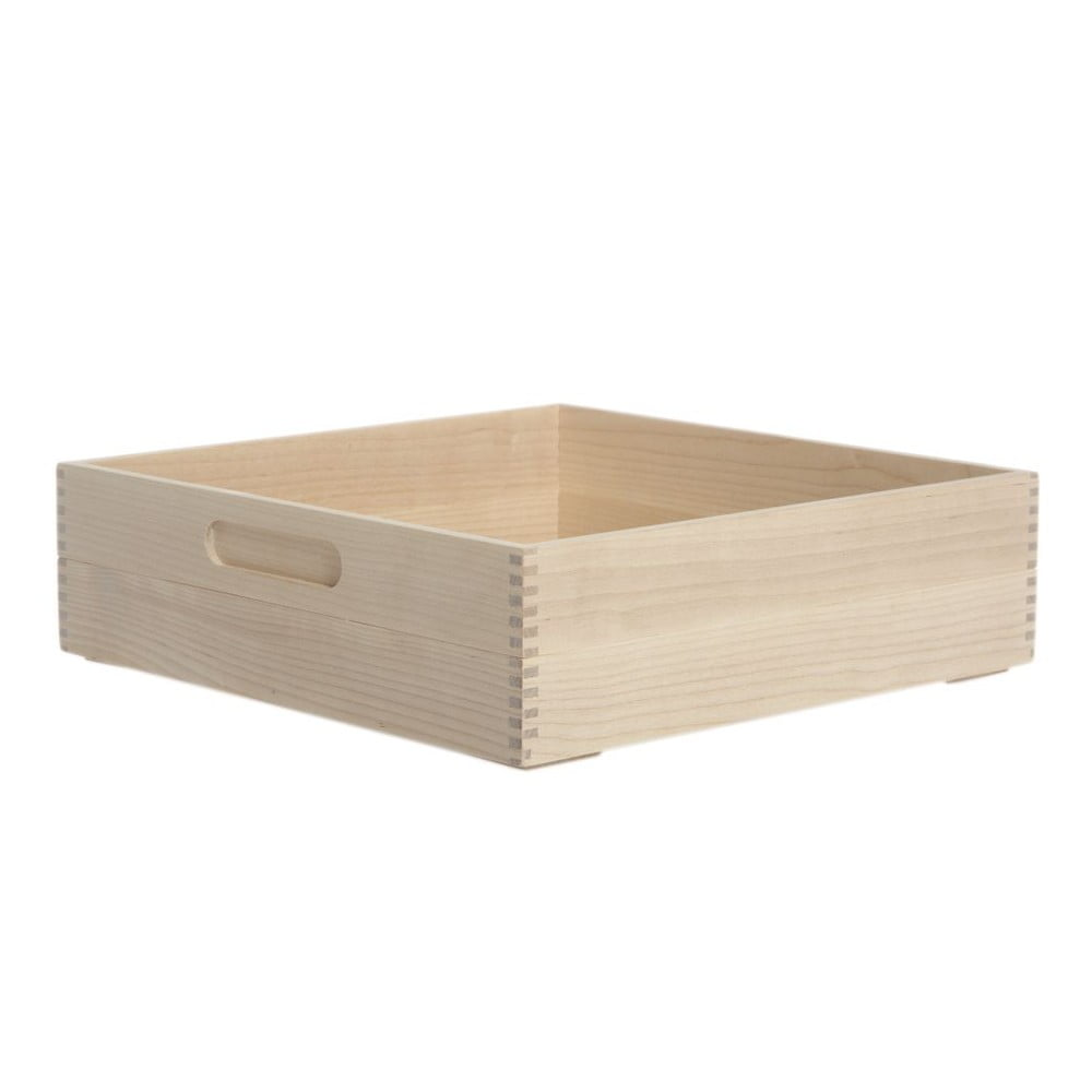 Box na pečivo Iris Hantverk Birch,výška 8,4cm
