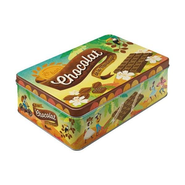 Plechová dóza Chocolat