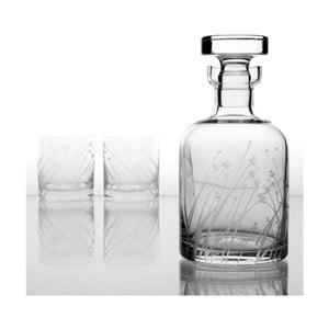 Ateliér Žampach, whisky set Len se šesti odlivkami
